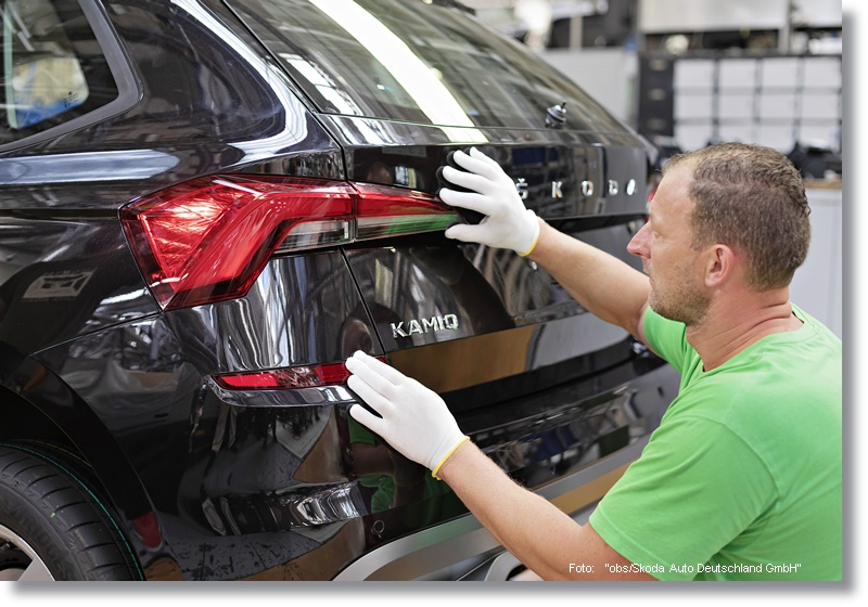 190715 Start of production for the new SKODA KAMIQ city SUV 1
